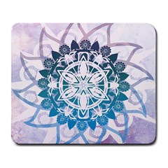 Mandalas Symmetry Meditation Round Large Mousepads