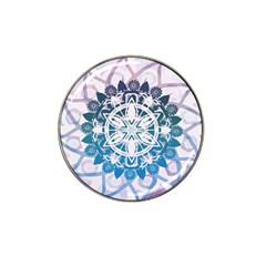 Mandalas Symmetry Meditation Round Hat Clip Ball Marker
