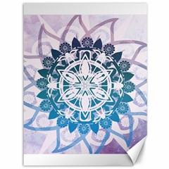 Mandalas Symmetry Meditation Round Canvas 36  X 48