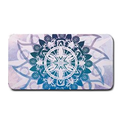 Mandalas Symmetry Meditation Round Medium Bar Mats