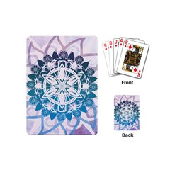 Mandalas Symmetry Meditation Round Playing Cards (mini)