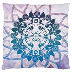 Mandalas Symmetry Meditation Round Large Cushion Case (one Side)