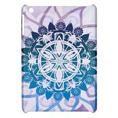 Mandalas Symmetry Meditation Round Apple Ipad Mini Hardshell Case