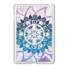 Mandalas Symmetry Meditation Round Apple Ipad Mini Case (white)