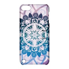 Mandalas Symmetry Meditation Round Apple Ipod Touch 5 Hardshell Case With Stand