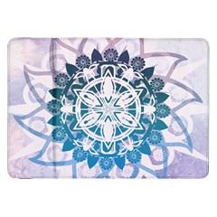 Mandalas Symmetry Meditation Round Samsung Galaxy Tab 8.9  P7300 Flip Case