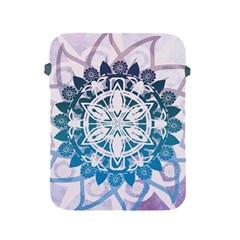 Mandalas Symmetry Meditation Round Apple Ipad 2/3/4 Protective Soft Cases
