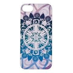 Mandalas Symmetry Meditation Round Apple Iphone 5s/ Se Hardshell Case