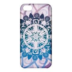 Mandalas Symmetry Meditation Round Apple Iphone 5c Hardshell Case