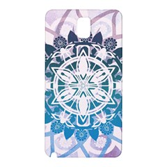 Mandalas Symmetry Meditation Round Samsung Galaxy Note 3 N9005 Hardshell Back Case