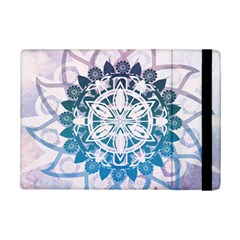 Mandalas Symmetry Meditation Round Ipad Mini 2 Flip Cases