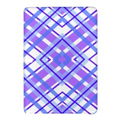 Geometric Plaid Pale Purple Blue Samsung Galaxy Tab Pro 10 1 Hardshell Case