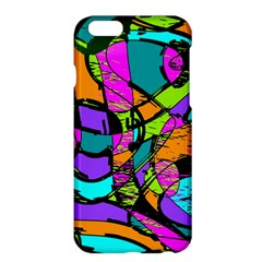 Abstract Art Squiggly Loops Multicolored Apple Iphone 6 Plus/6s Plus Hardshell Case