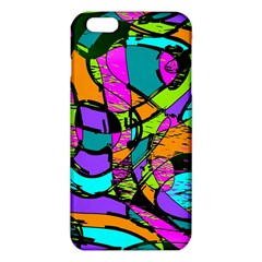 Abstract Art Squiggly Loops Multicolored Iphone 6 Plus/6s Plus Tpu Case