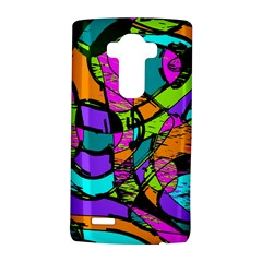 Abstract Art Squiggly Loops Multicolored Lg G4 Hardshell Case