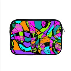 Abstract Art Squiggly Loops Multicolored Apple Macbook Pro 15  Zipper Case