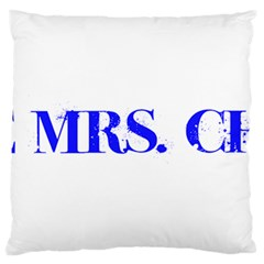 Future Mrs. Chapman Standard Flano Cushion Case (Two Sides)