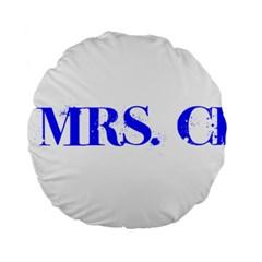 Future Mrs. Chapman Standard 15  Premium Round Cushions