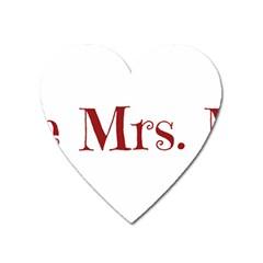Future Mrs. Moore Heart Magnet