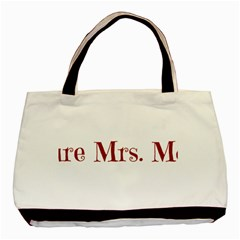 Future Mrs. Moore Basic Tote Bag (Two Sides)