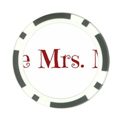 Future Mrs. Moore Poker Chip Card Guard (10 pack)