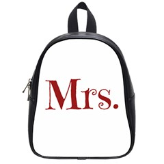 Future Mrs. Moore School Bags (Small)
