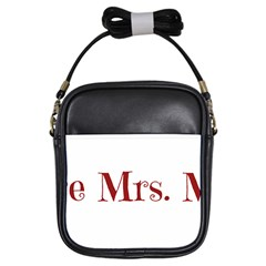 Future Mrs. Moore Girls Sling Bags