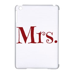 Future Mrs. Moore Apple iPad Mini Hardshell Case (Compatible with Smart Cover)