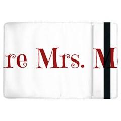 Future Mrs. Moore iPad Air Flip