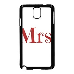 Future Mrs. Moore Samsung Galaxy Note 3 Neo Hardshell Case (Black)