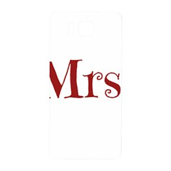Future Mrs. Moore Samsung Galaxy Alpha Hardshell Back Case