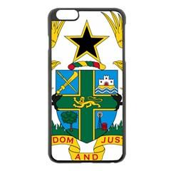 National Seal of Ghana Apple iPhone 6 Plus/6S Plus Black Enamel Case