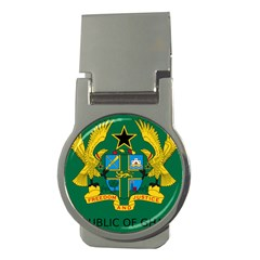 National Seal of Ghana Money Clips (Round)