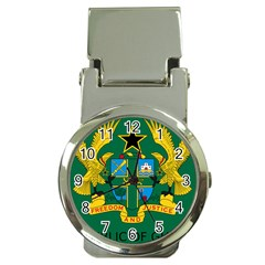 National Seal of Ghana Money Clip Watches