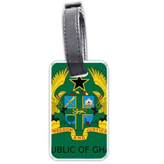 National Seal of Ghana Luggage Tags (Two Sides)