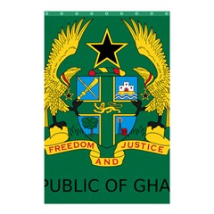 National Seal of Ghana Shower Curtain 48  x 72  (Small)