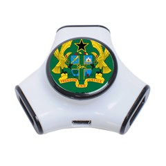 National Seal of Ghana 3-Port USB Hub