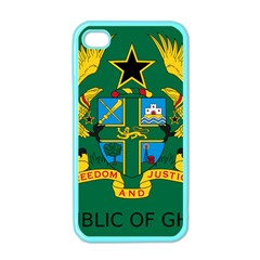 National Seal of Ghana Apple iPhone 4 Case (Color)