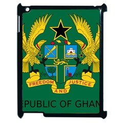 National Seal of Ghana Apple iPad 2 Case (Black)