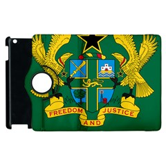 National Seal of Ghana Apple iPad 2 Flip 360 Case