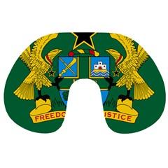 National Seal of Ghana Travel Neck Pillows