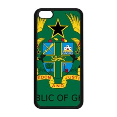 National Seal of Ghana Apple iPhone 5C Seamless Case (Black)