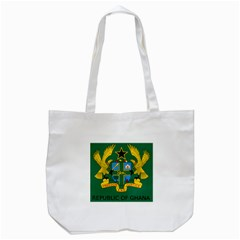 National Seal of Ghana Tote Bag (White)