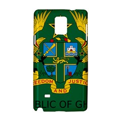 National Seal of Ghana Samsung Galaxy Note 4 Hardshell Case