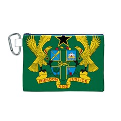 National Seal of Ghana Canvas Cosmetic Bag (M)
