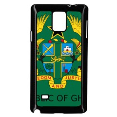 National Seal of Ghana Samsung Galaxy Note 4 Case (Black)