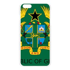 National Seal of Ghana Apple Seamless iPhone 6 Plus/6S Plus Case (Transparent)