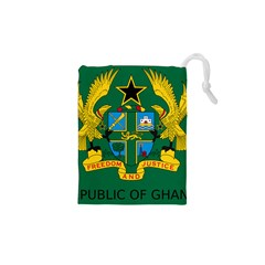 National Seal of Ghana Drawstring Pouches (XS)