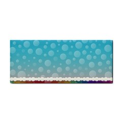Rainbow Background Border Colorful Cosmetic Storage Cases