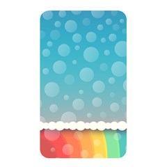 Rainbow Background Border Colorful Memory Card Reader